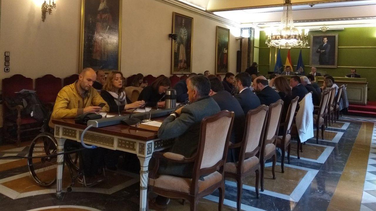Pleno del Ayuntamiento de Oviedo