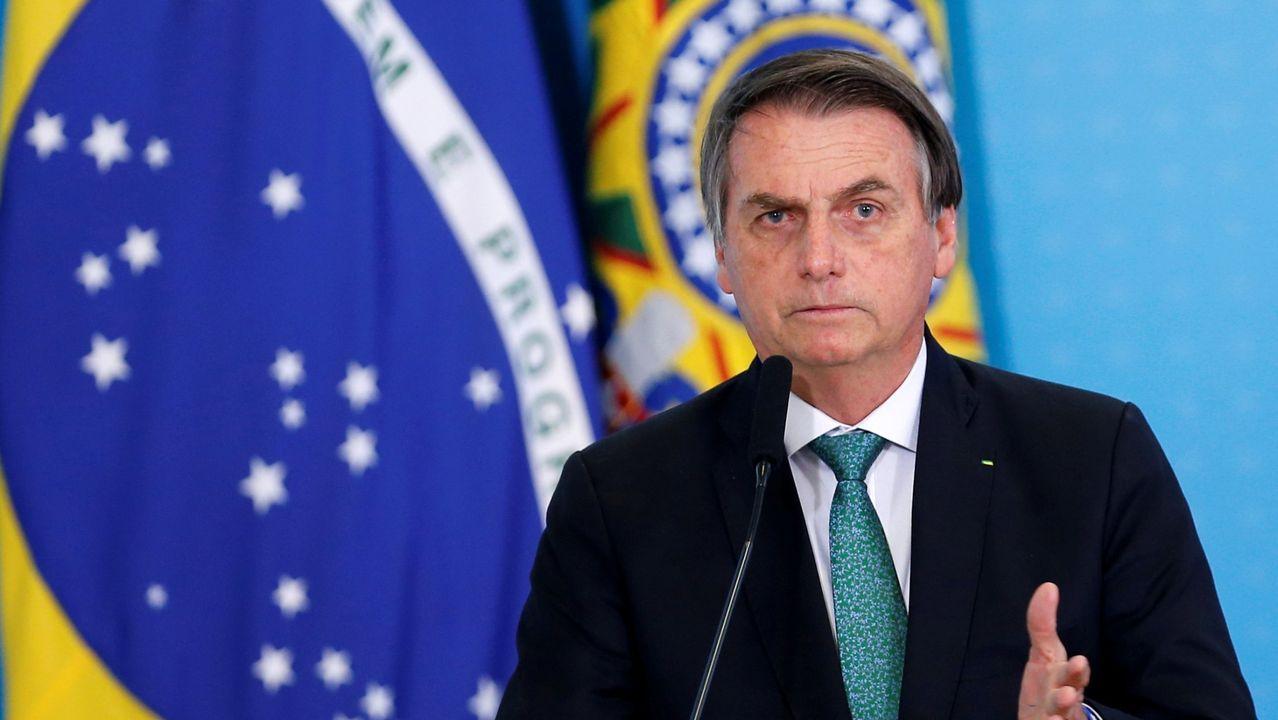 Las grandes estrellas de los próximos Juegos Olímpicos de Tokio.El presidente de Brasil, Jair Bolsonaro