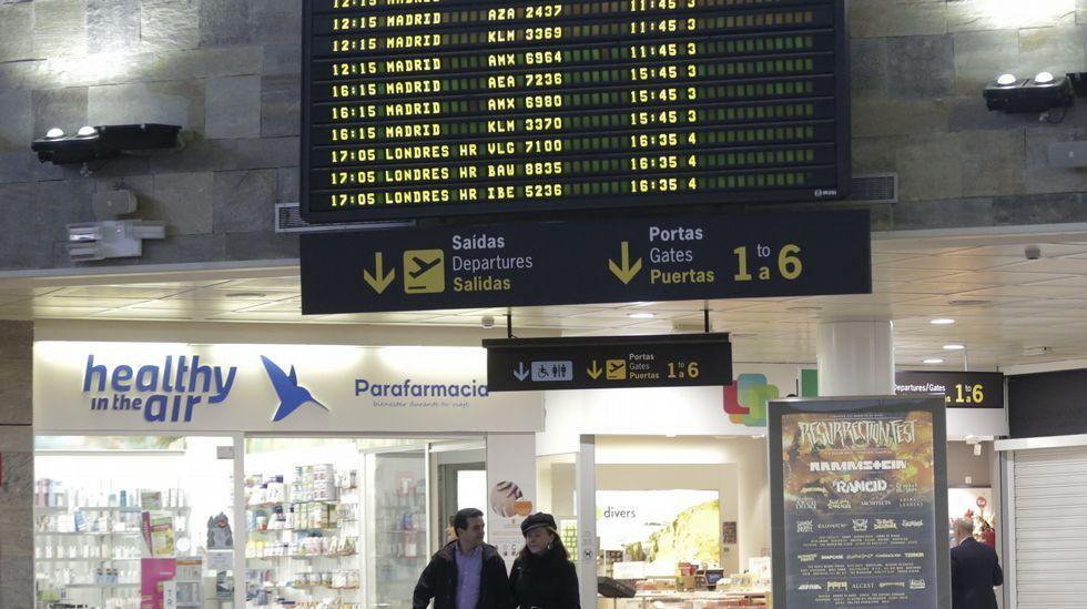 Los Reyes inauguran Fitur.Aeropuerto de Asturias
