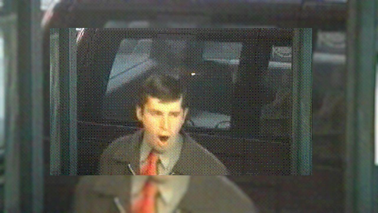 Jorge García Vidal captado por una cámara de seguridad años antes de ser detenido