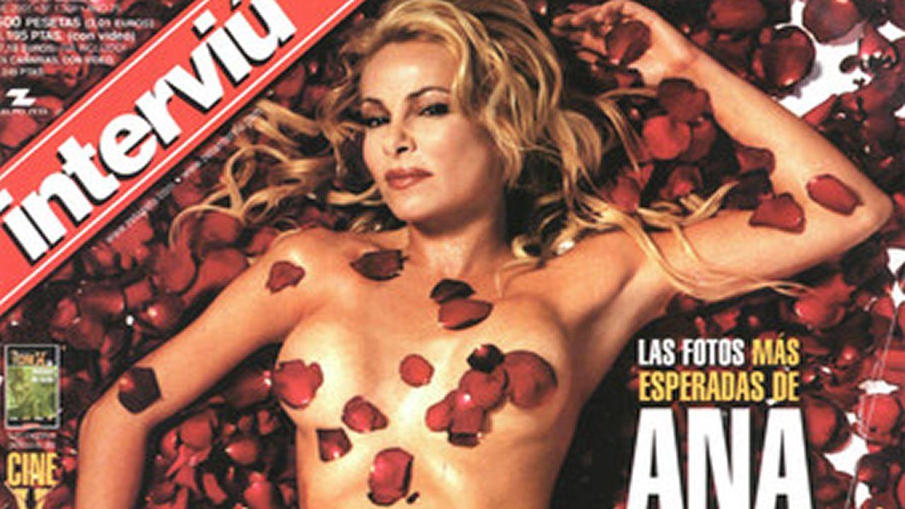Las portadas más destacadas de la historia de «Interviú».Pelayo Díaz en la portada de Interviú