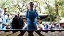 Nibali, líder del Astana, en Japón el pasado octubre
