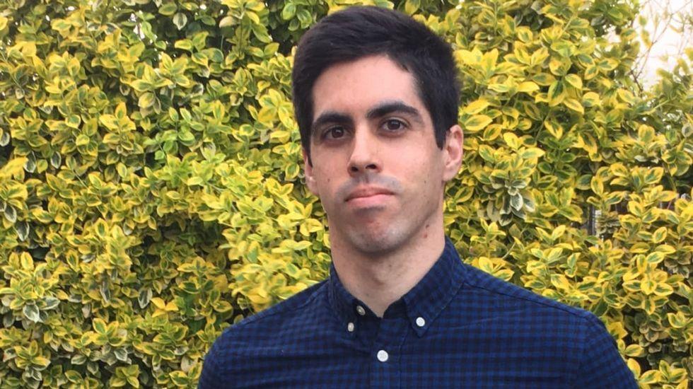 Samuel González nació en Vigo y vive desde hace cinco años en Polonia. Él estudiará en Cambridge el próximo curso gracias a la beca de la Fundación Barrie