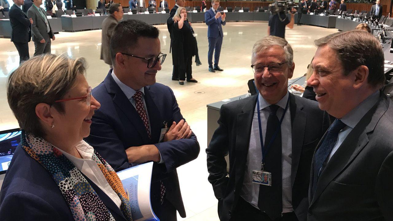 Una manada de lobos.Mario Draghi cede el testigo a su sucesora, Christine Lagarde