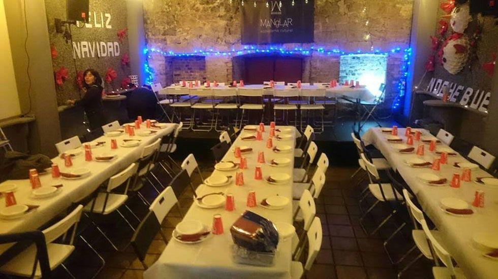 Cena de Nochebuena en el Manglar.Cena de Nochebuena en el Manglar