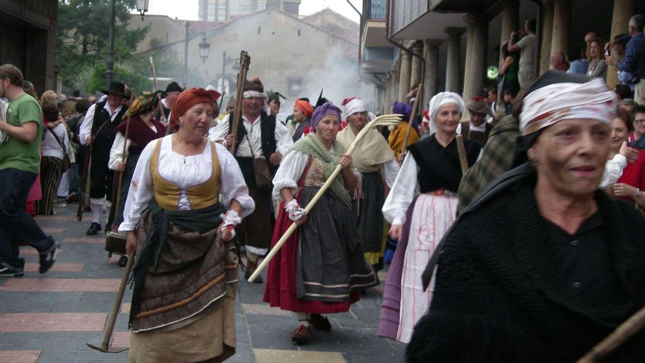 Asociación de Recreación Histórico Cultural de Asturias en Avilés