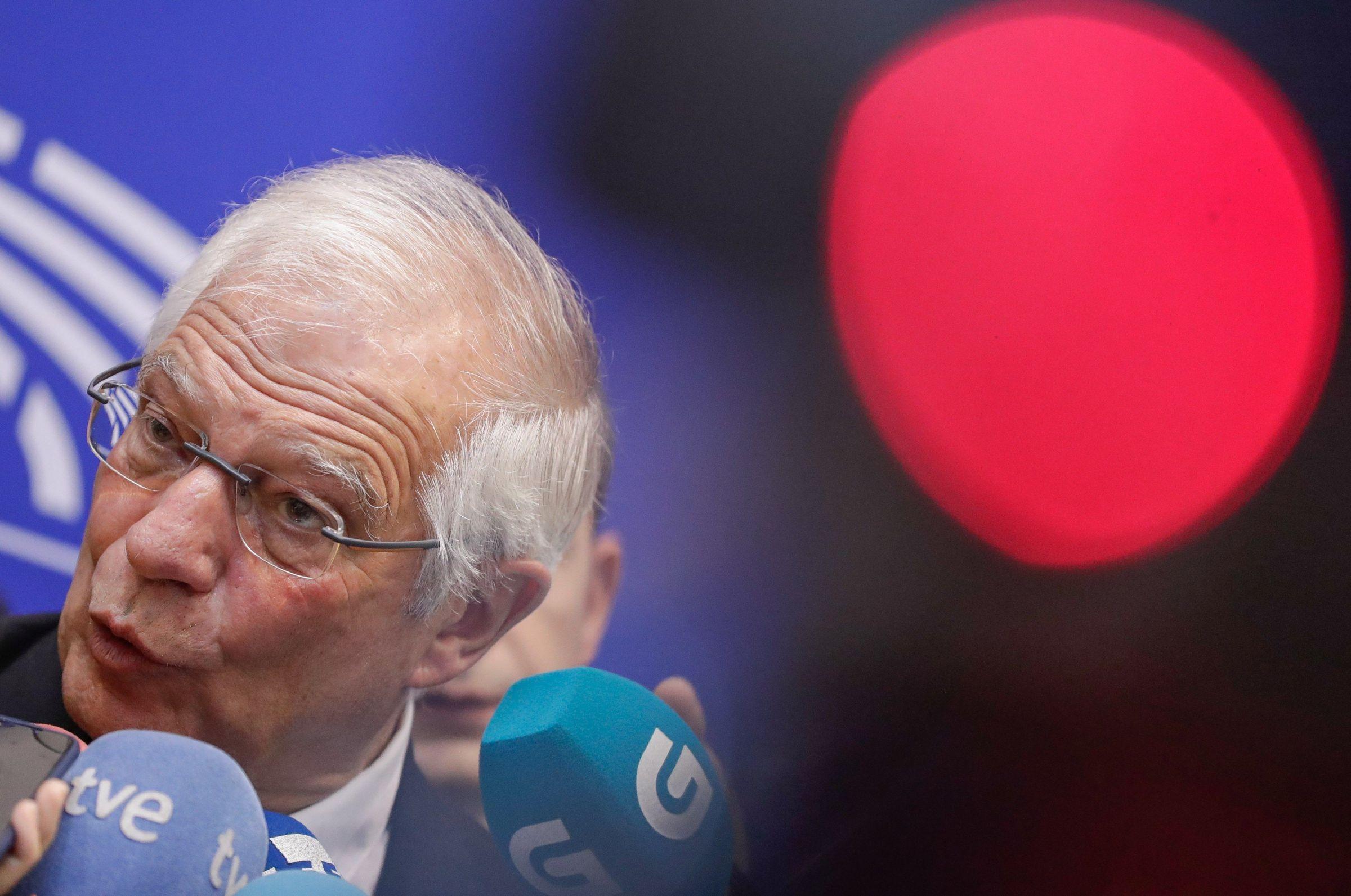 Aspirantes a dirigir los puestos más relevantes de la UE.Josep Borrell, ministro de Exteriores