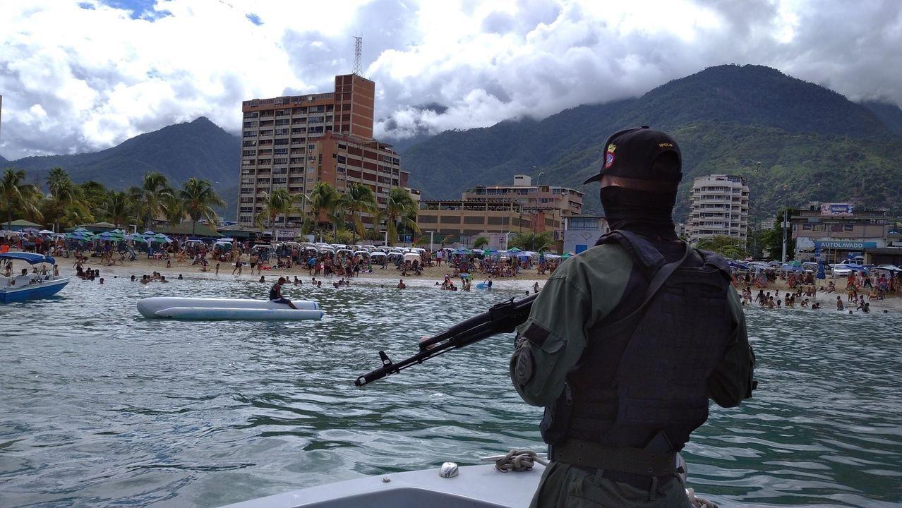 Embarcación de patrulla de los Guardacostas de Venezuela
