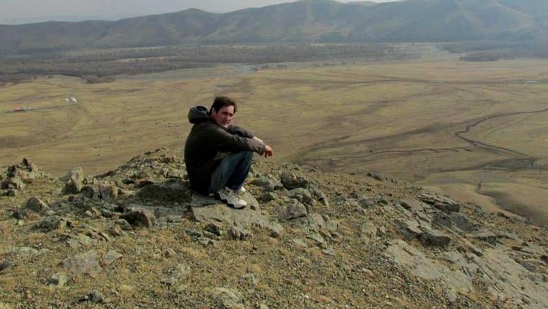 Alfonso Xavier Canosa, en Mongolia.