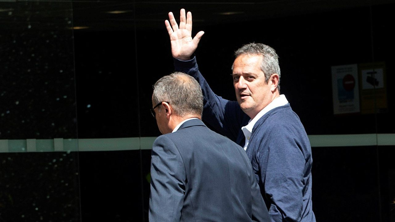 Vista general de la cárcel de Asturias.Rull y Turull en marzo del 2018, en su declaración ante el Tribunal Supremo