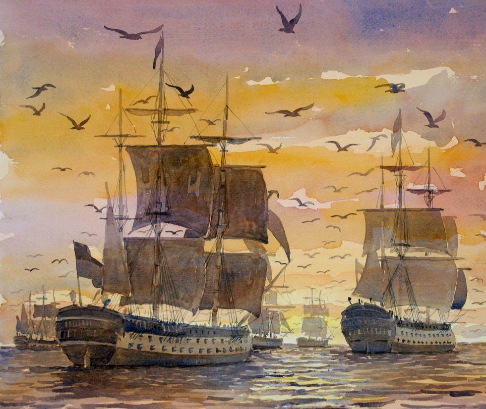 ¿Sabías que el «espíritu de Brión» venció a los ingleses en 1800?