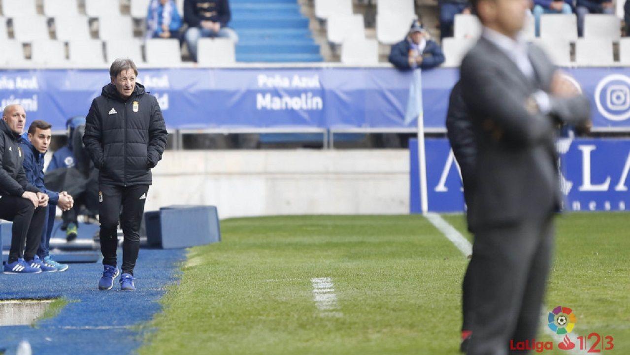 Anquela Real Oviedo Alcorcon Carlos Tartiere