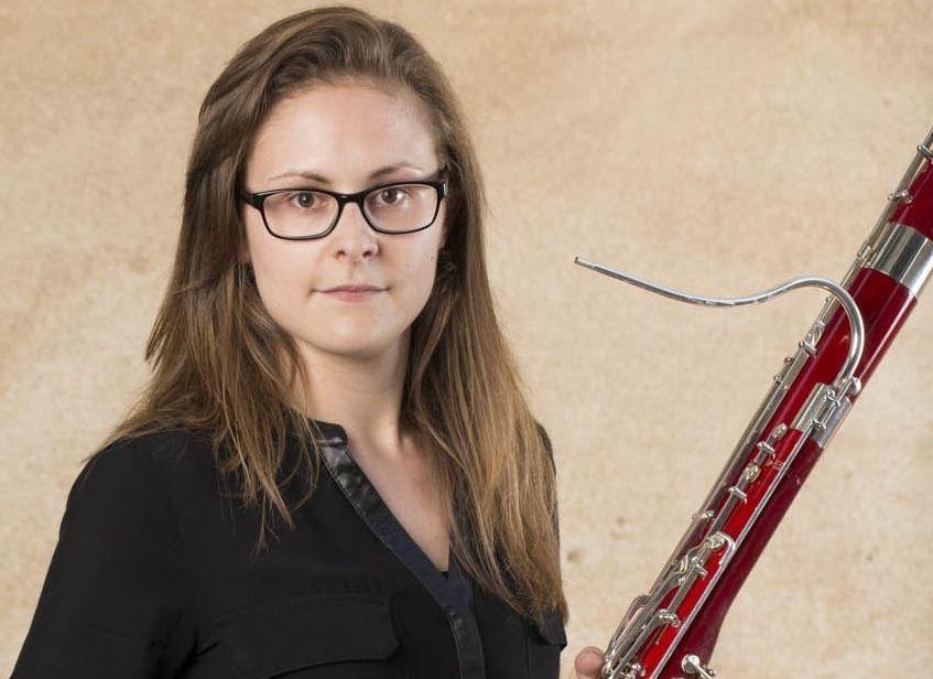 María José Rielo está en la Orquesta del Liceo de Barcelona.