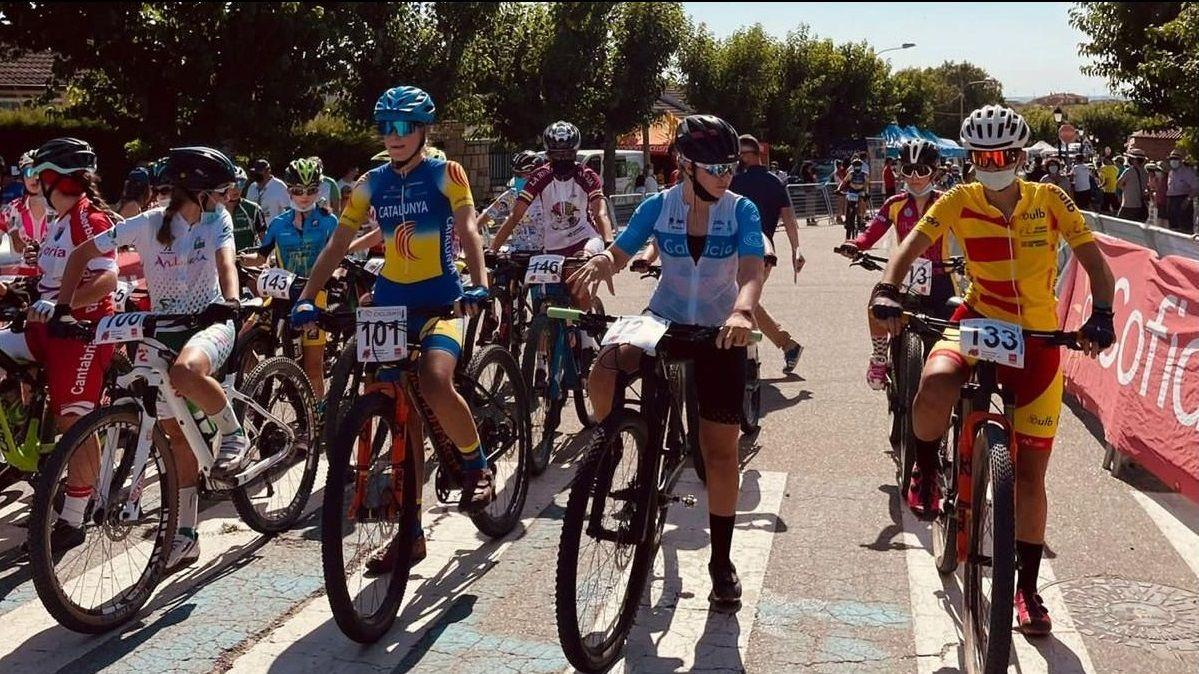 El nuevo Bike Park Junior de Manzaneda.Iris Fernández subió al podio del nacional escolar de BTT (XCO)