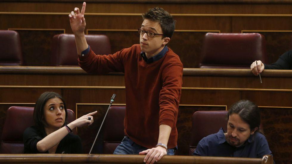 Errejón defiende en el Congreso la legalidad de la financiación de su partido