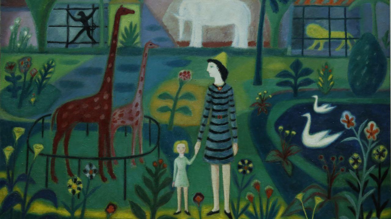 Detalle de «Parque zoológico», de Lago Rivera