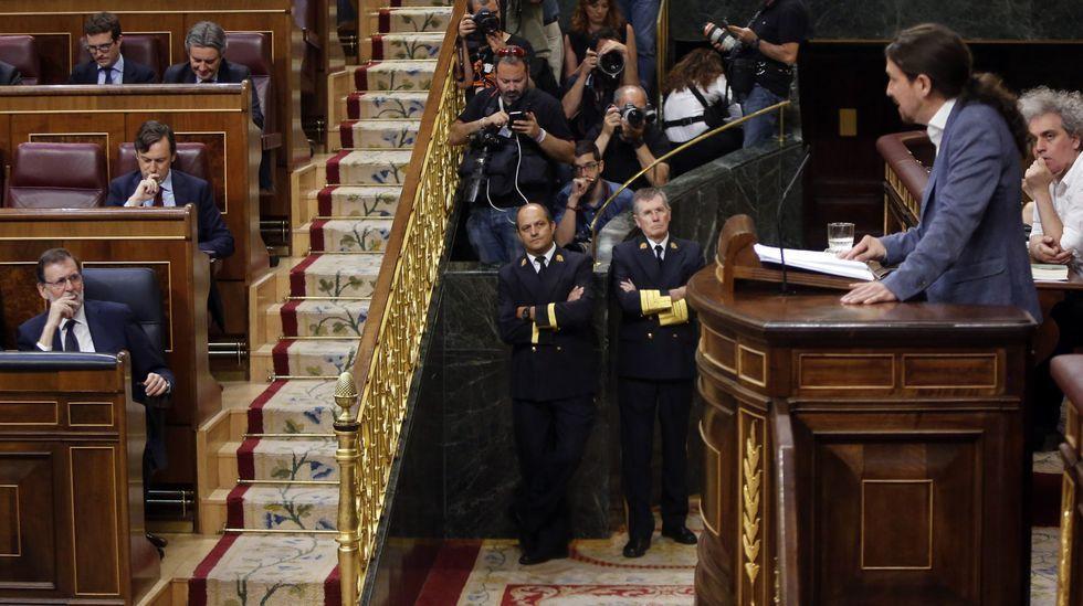 Debate de la moción presentada por Iglesias en el 2017.