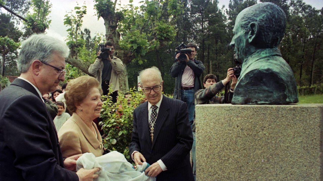 Festa da Palabra na Ínsua dos poetas.O escritor Florencio Delgado Gurriarán.