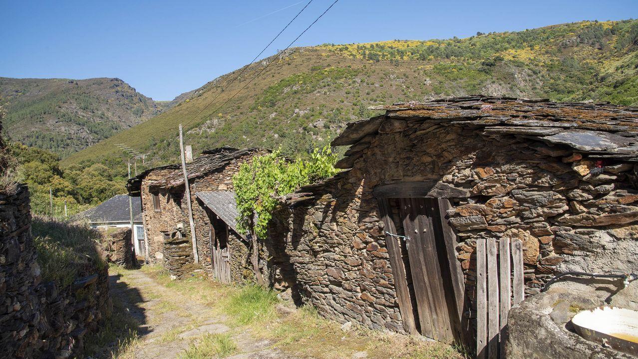 La pequeña localidad de Ferreira pertenece a la parroquia de Montefurado
