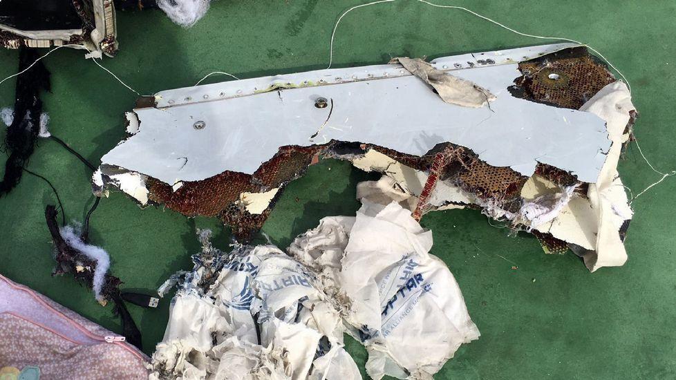 Restos del avión de Egypt Air localizados en el Mediterráneo