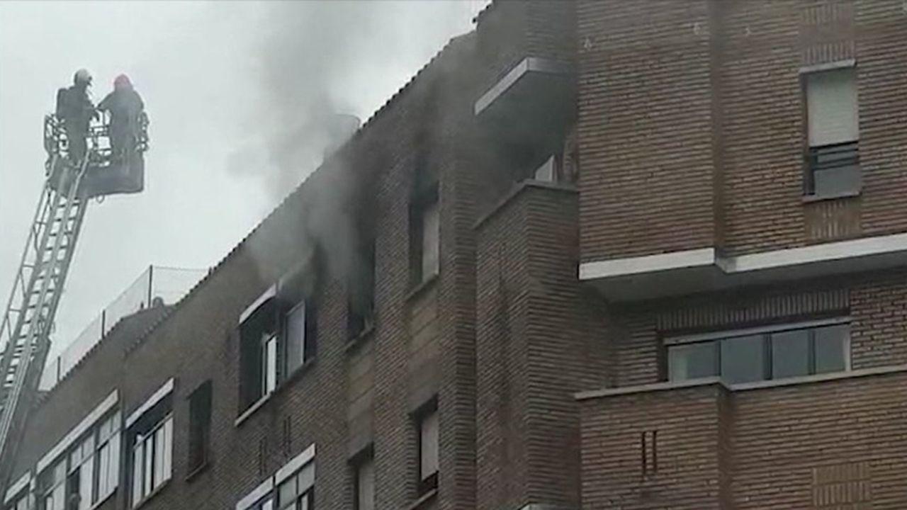 Incendio en Pumarín