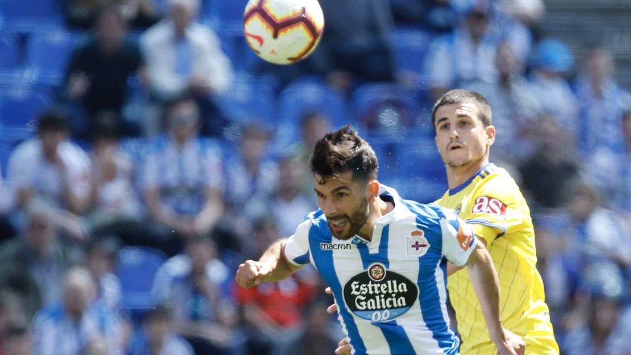 Deportivo - Cádiz, en imágenes
