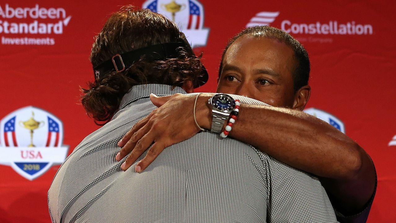 Consternación por la muerte de la golfista Celia Barquín.Los concejales del PSOE de Siero, Noelia Macías y César Díaz