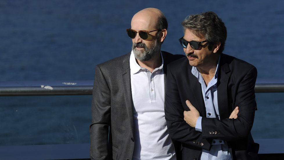 Ricardo Darín junto a Javier Cámara