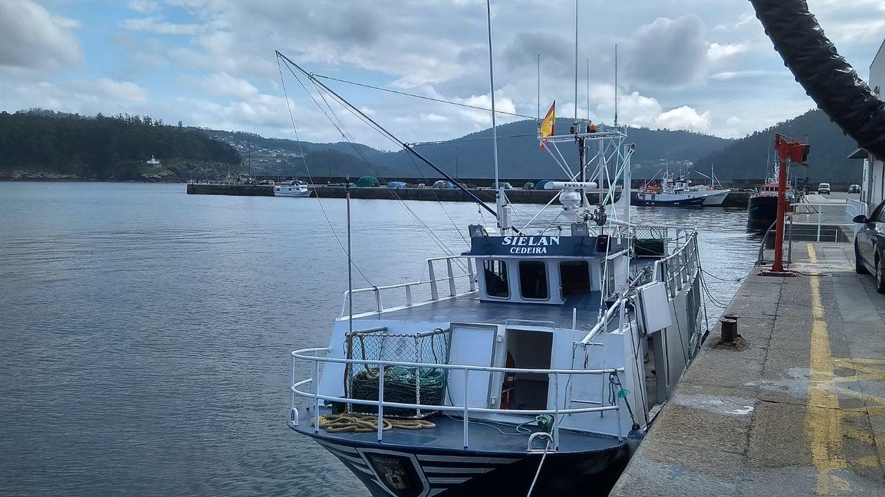 El Sielan, un barco de artes menores que se incorporó el viernes a la costera del bonito, en una foto de archivo