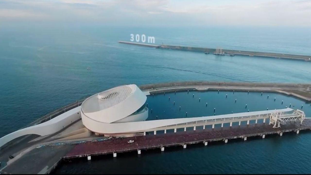 Un brazo exterior de 300 metros permitirá atraer a los grandes portacontenedores