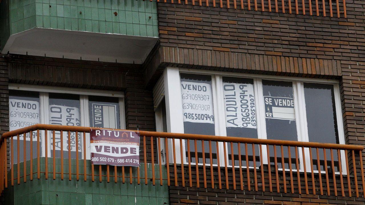 Anuncios de venta y alquiler de un piso