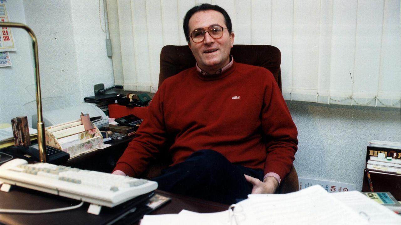 Complejo de padrino. Vioque, en una imagen de 1995, planteó a narcotraficantes de la ría de Arousa crear algo similar a La Comisión, siguiendo el modelo de la Cosa Nostra.