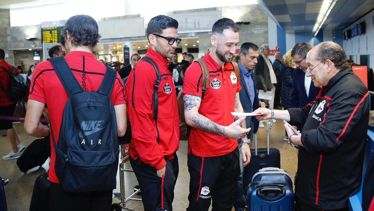 Lo mejor del Mallorca - Deportivo.Aficionados viendo el partido en la Internacional