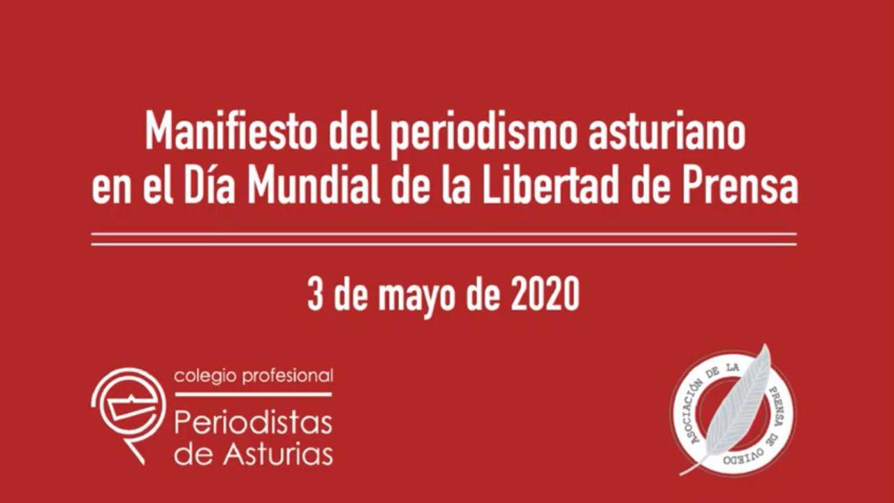 Manifiesto del periodismo asturiano en el Día Mundial de la Libertad de Prensa.El consejero de Interior de la Generalitat, Miquel Buch