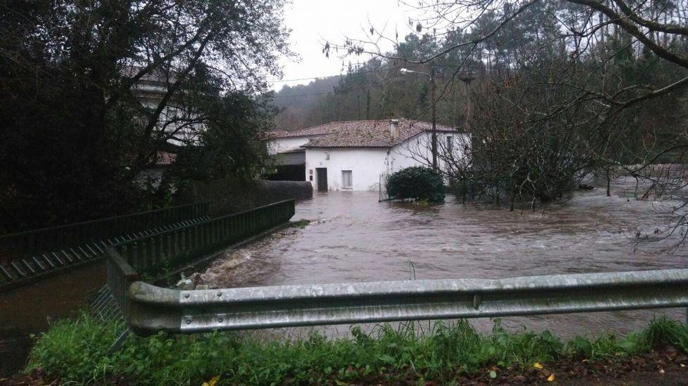 Inundaciones en Roibeira, Betanzos