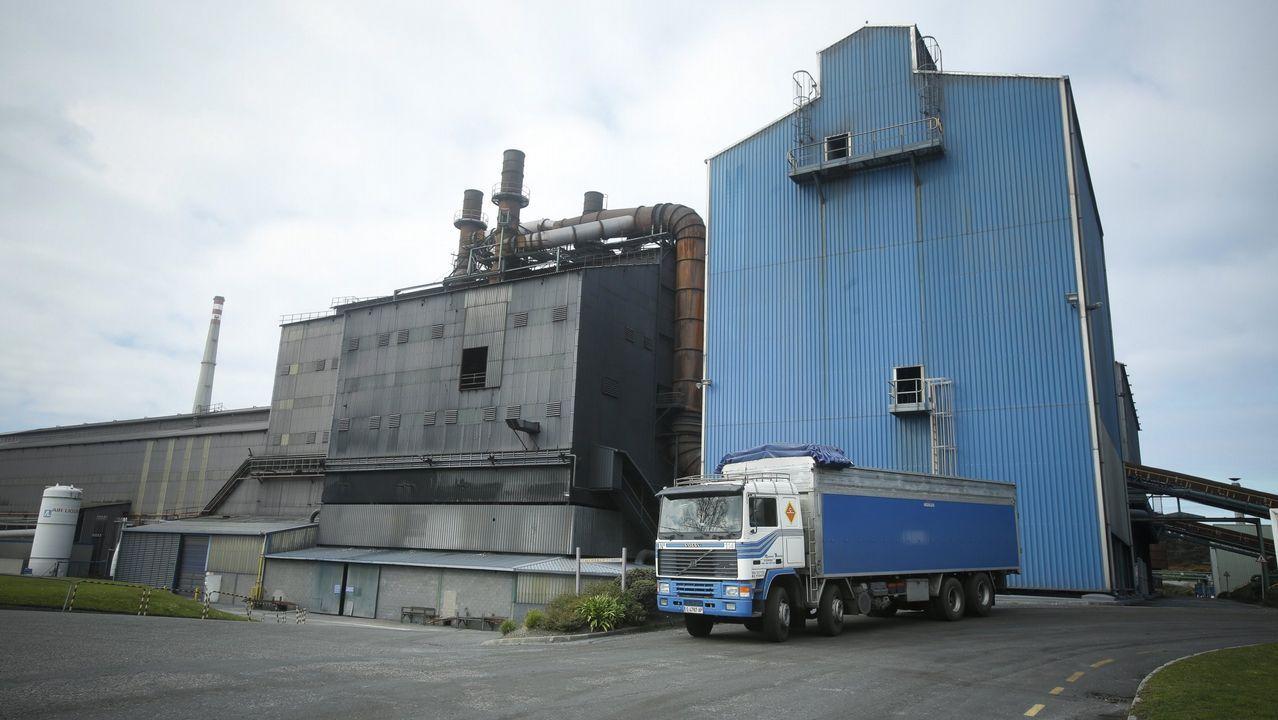 Fábrica Ferroatlántica en Sabón (Arteixo)