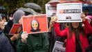 Manifestación contra  la islamofobia celebrada a finales de octubre en Paris