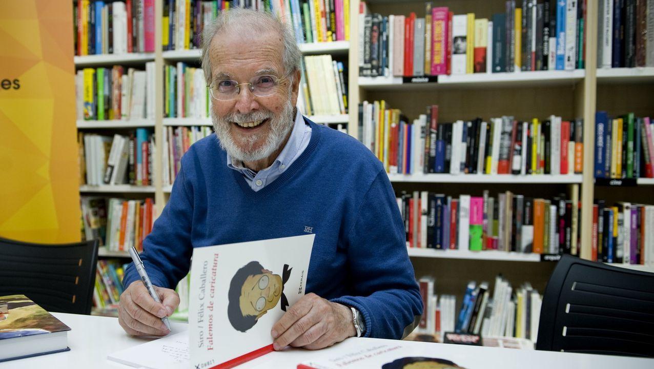 El premio reconoce el trabajo de Siro como columnista y caricaturista político