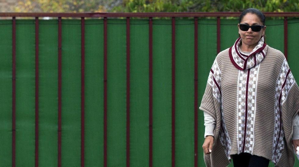 Isabel Pantoja ya disfruta de la libertad condicional.Público en la Feira do Viño de Chantada de 1991