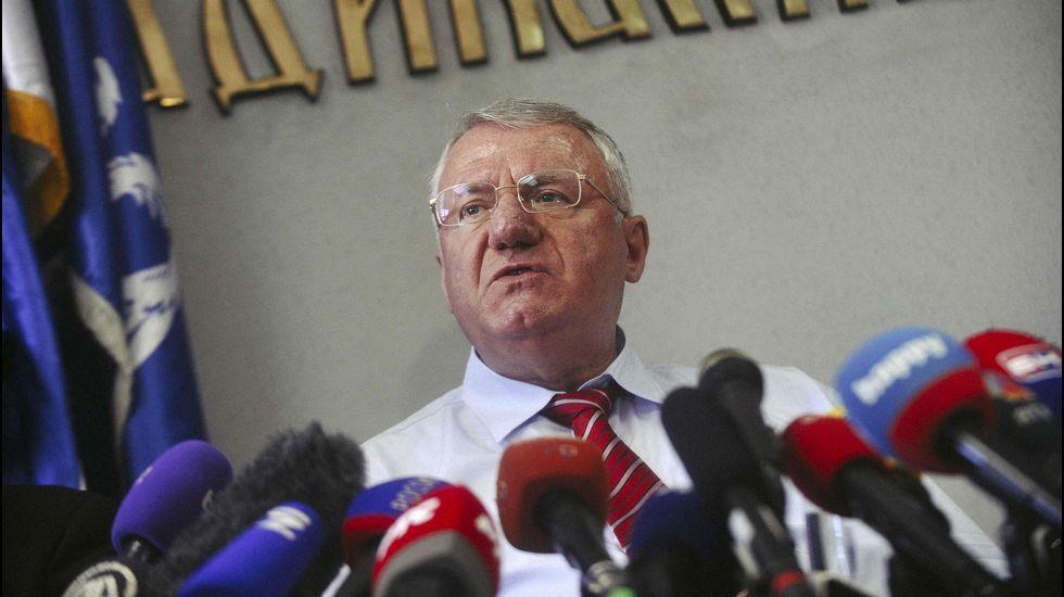Ratko Mladic, condenado a cadena perpetua por sus crímenes durante la guerra de Bosnia.Peter Handke