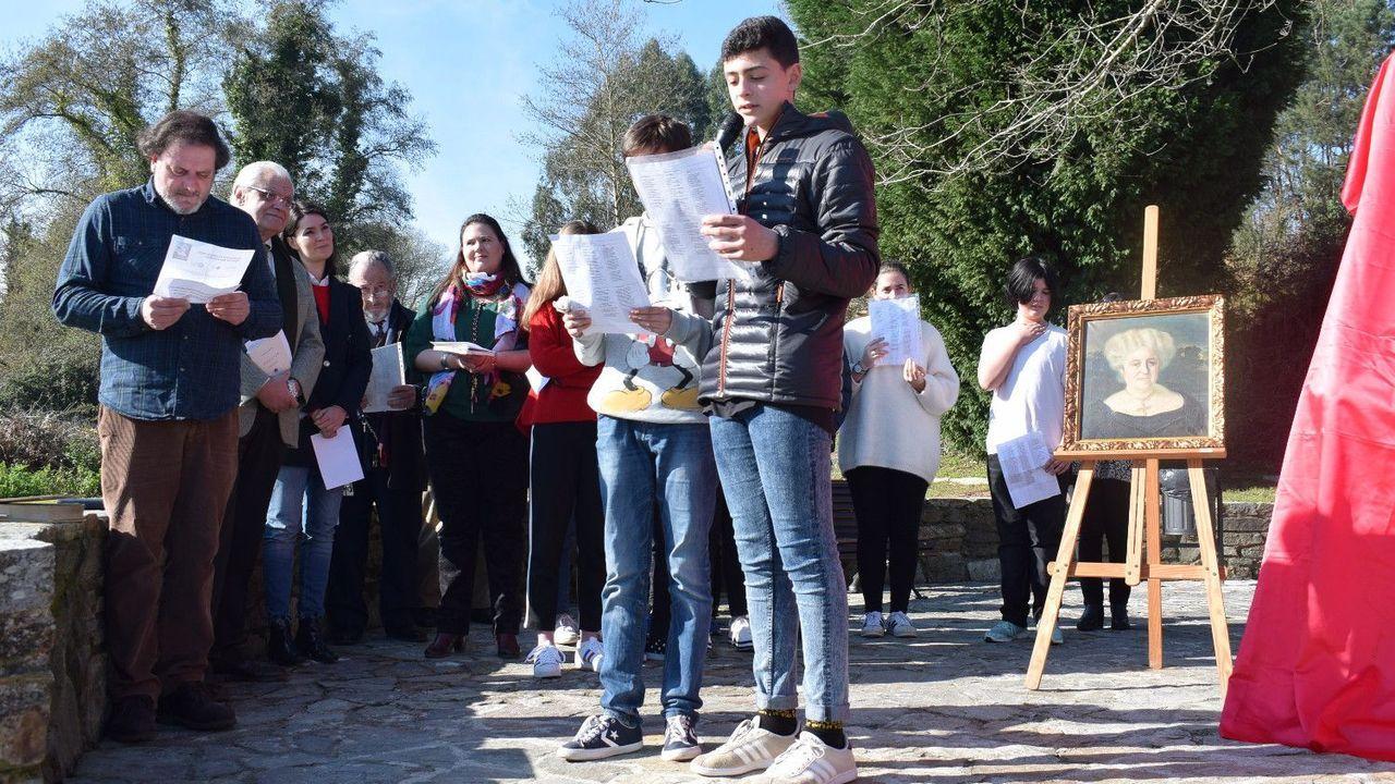 Homenaje de la RAG a Filomena Dato, que dará nombre al centro social de Fiobre