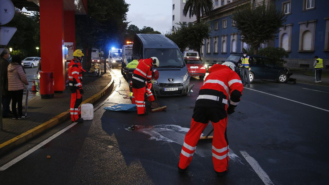 La autovía de Barbanza sin tráfico durante el estado de alarma