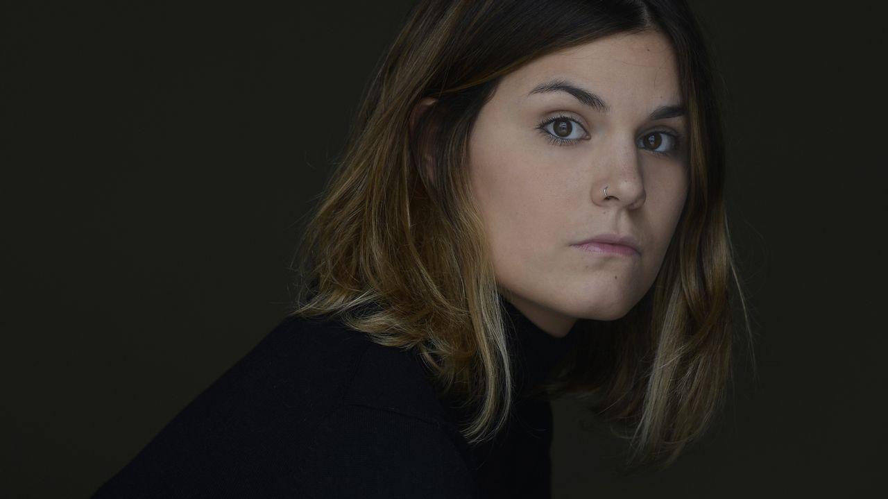 La escritora Elvira Sastre