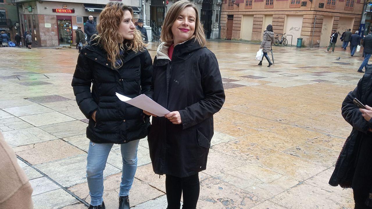 Anabel Santiago y Ana Taboada