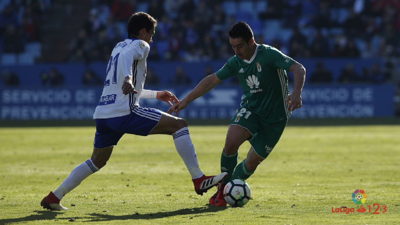 Carlos Hernandez Horizontal.Saúl Berjón ante Zapater