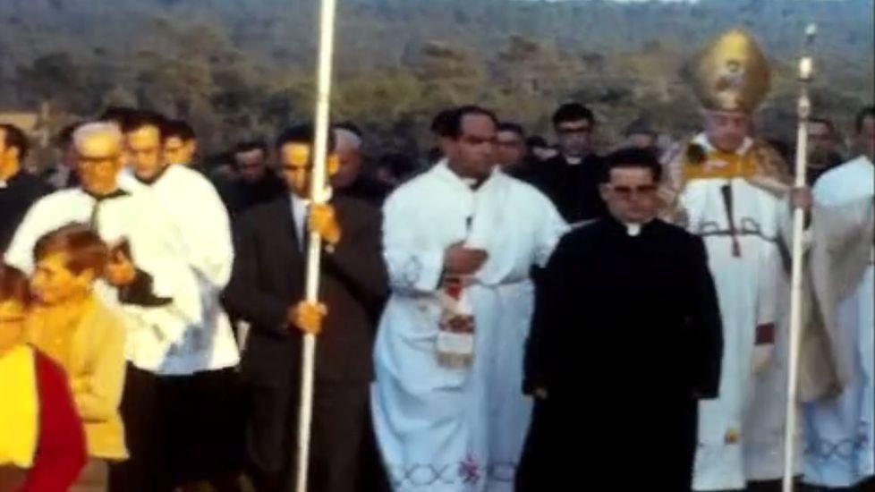 Captura del documental grabado en Salto en 1970 por la soprano coruñesa María Luisa Nache