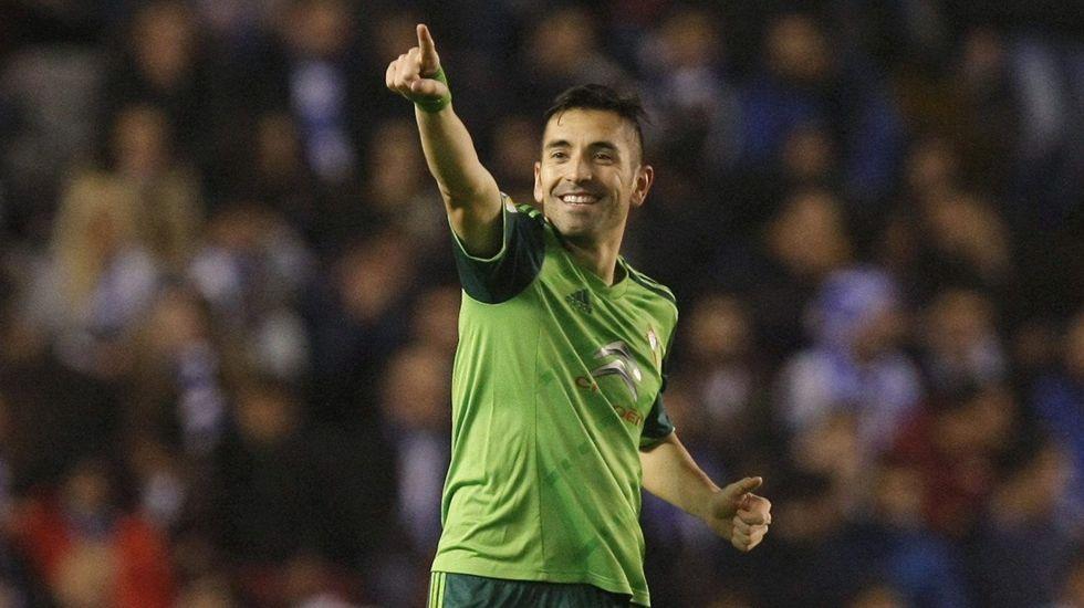 El Levante 0 - Celta 1, en fotos.Rubén Reyes marcó una época en el club granate.