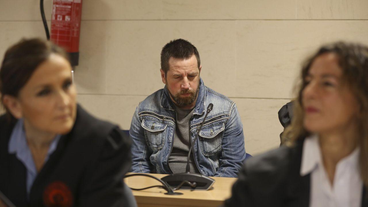 Así es Norbert Feher, alias Igor el Ruso.El Chicle, apodo de José Enrique Abuín Gey, durante el juicio por el que fue condenado a prisión permanente revisable