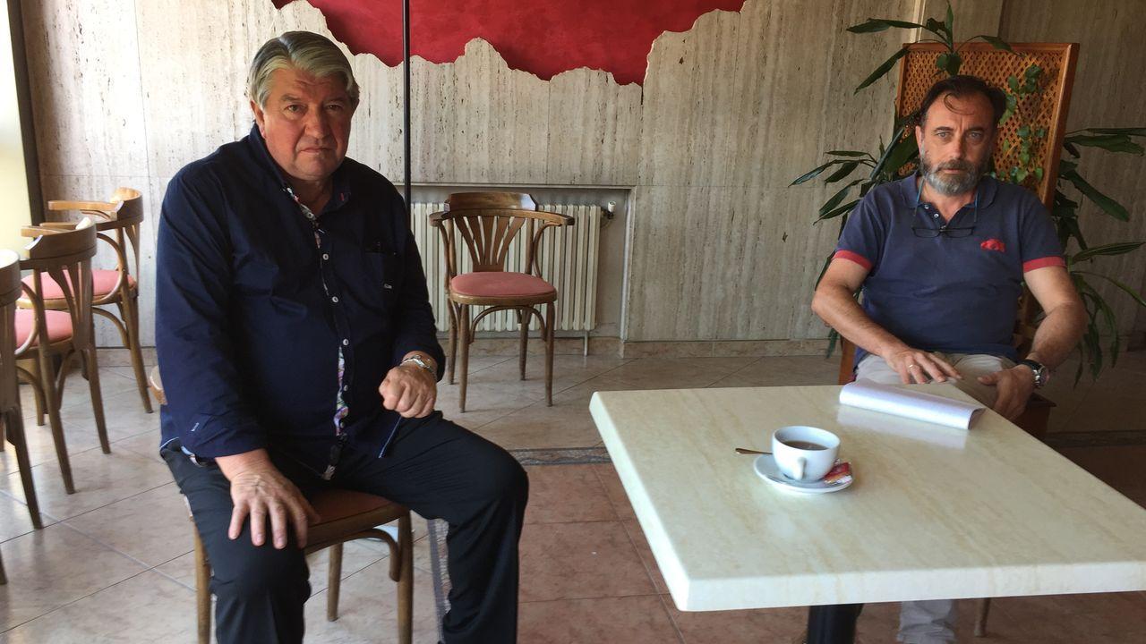 El vecino de Foz cuenta su experiencia con el sanatorio Ollos Grandes, en Lugo, en una imagen del pasado marzo