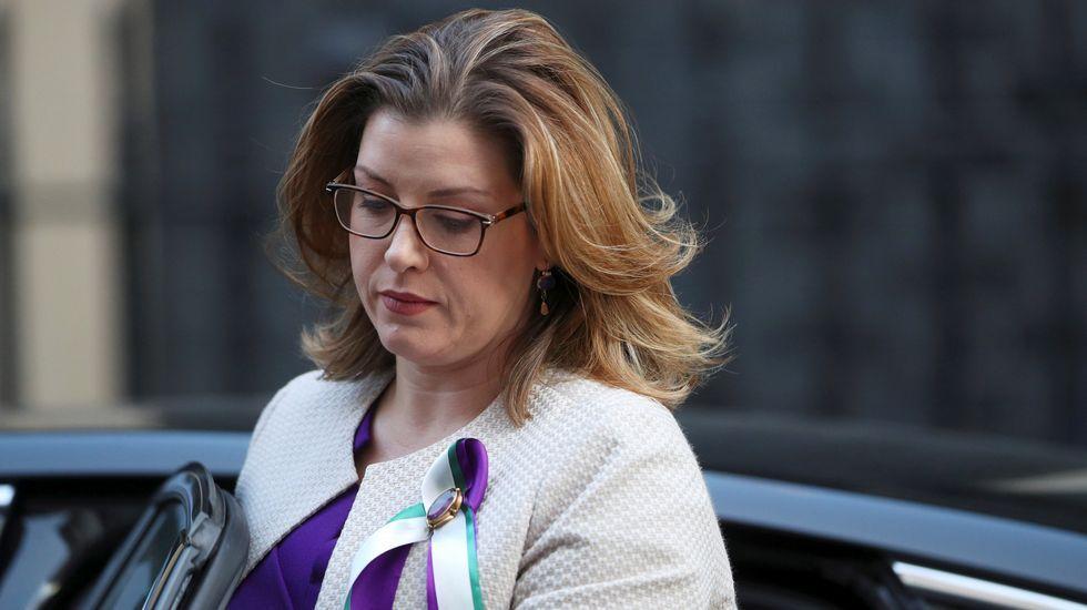 Penny Mordaunt, ministra de Cooperación Internacional